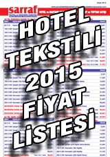 Hotel Tekstili Fiyat Listesi 2014